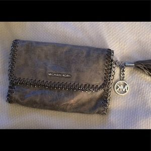 Michael Kors Silver Chain with tassel gorgeous